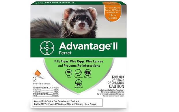 advantage ii flea treatment for ferrets