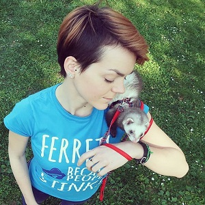 Anja Delic Friendly Ferret