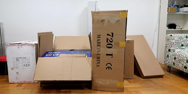 many boxes