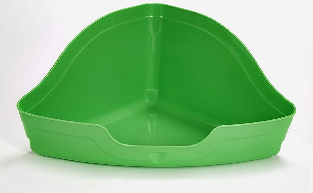 Kaytee Hi-Corner Large Litter Pan