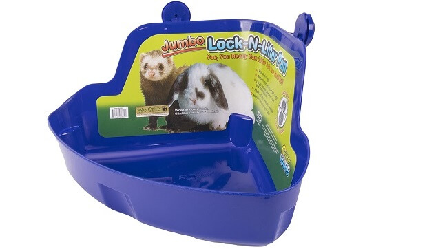 Ware Manufacturing Plastic Lock-N-Litter Bigger Pan for Small Pets