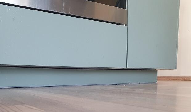 ferret proof kitchen toe kick