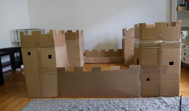 Fortress For Ferret Toy