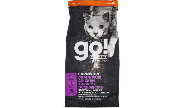 GO! CARNIVORE CHICKEN, TURKEY + DUCK RECIPE CAT FOOD