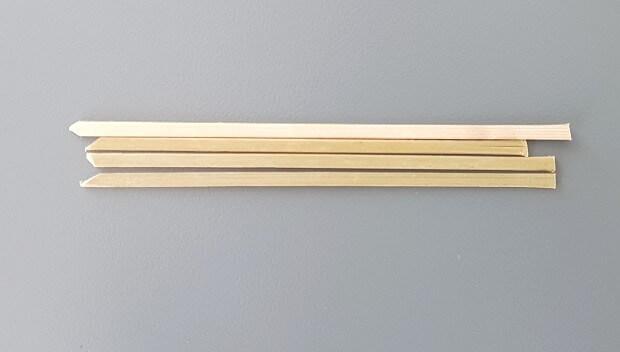 Wooden Stick Or Tongue Depressors
