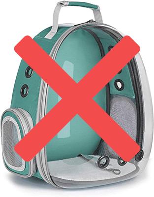 bad backpacks for ferrets