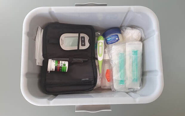 first aid kit for ferrets
